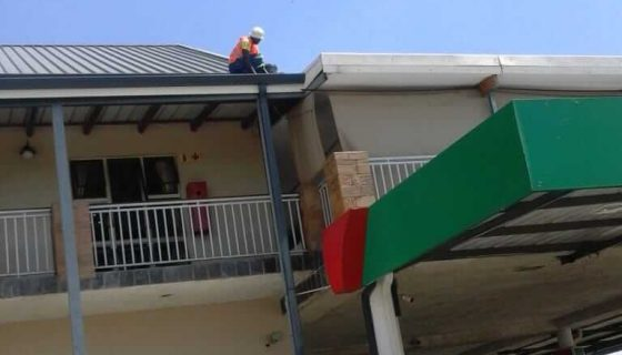 construction helping community